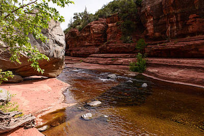 Photograph - Sedona Boulder by John Johnson