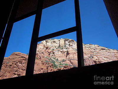 Art Print featuring the photograph Sedona Chapel 4 by Tom Doud