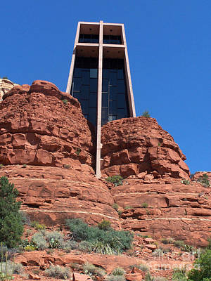 Art Print featuring the photograph Sedona Chapel 5 by Tom Doud