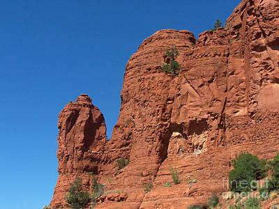 Photograph - Sedona Chapel Rocks by Tom Doud