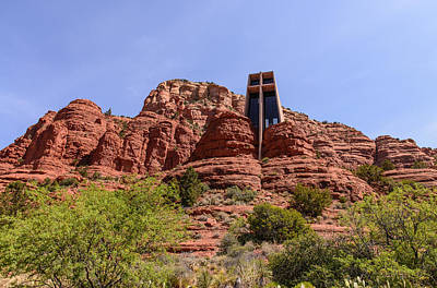 Photograph - Sedona Chappel by John Johnson