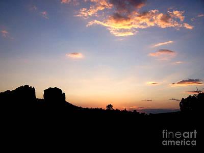 Photograph - Sedona Dusk by Tom Doud