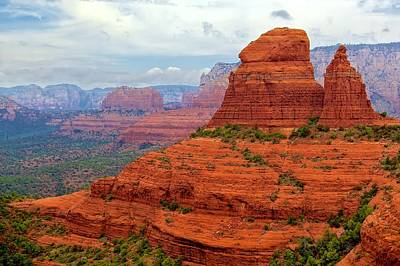 Photograph - Sedona Flyover by Joe Urbz