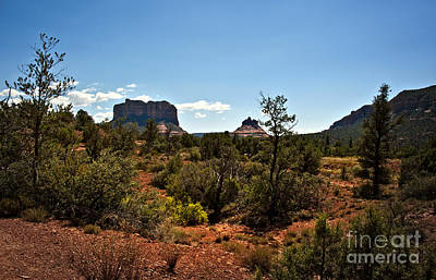 Photograph - Sedona Heat Of The Day by Lee Craig