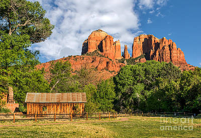 Sedona Landmark  Art Print by Tod and Cynthia Grubbs