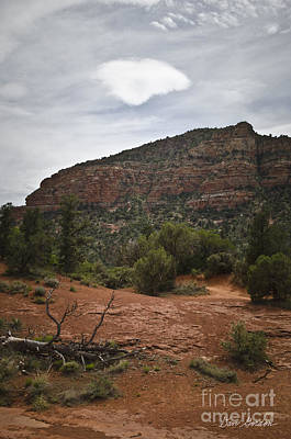 Clouds Photograph - Sedona Landscape No. 2 by David Gordon