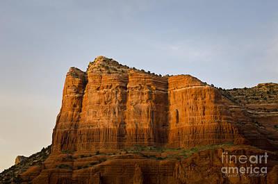 Sedona Landscape Viii Art Print by Dave Gordon
