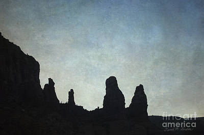 Photograph - Sedona Landscape Xiii by Dave Gordon