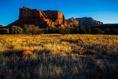 Sedona Light Art Print by Bill Cantey