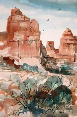 Sedona Art Print by Micheal Jones