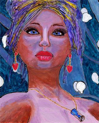 Sedona Moonlight Art Print