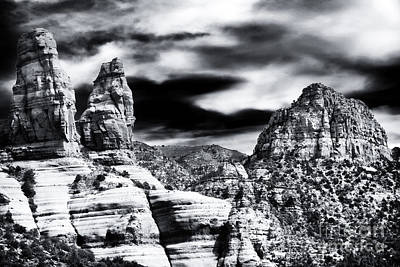 Photograph - Sedona Mountain View by John Rizzuto