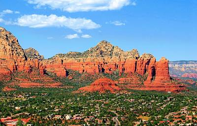 Photograph - Sedona Mountains by Jane Girardot