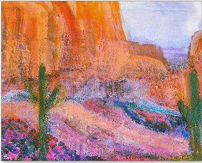 Arizona Memories Painting - Sedona On My Mind Revisited by Anne-Elizabeth Whiteway