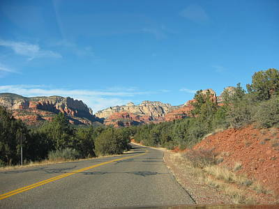Photograph - Sedona Open Road by Angela Bushman