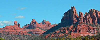 Photograph - Sedona Panorama by Debby Pueschel