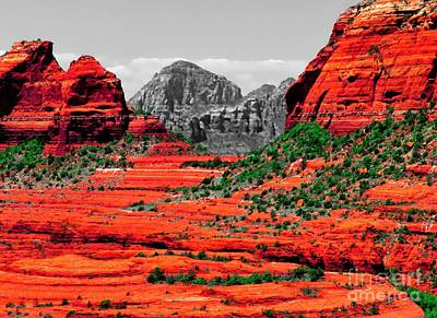 Digital Art - Sedona Misperceived by Tim Richards