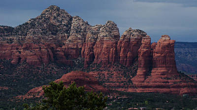Sedona Red Rock Country  Art Print by Beverly Guilliams