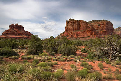Photograph - Sedona Red Rocks by Ryan Heffron