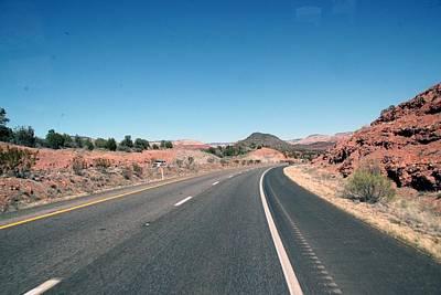 Photograph - Sedona Road Curve by Amelia Painter