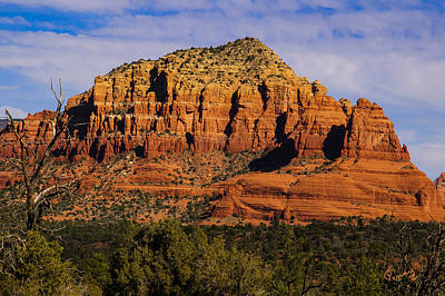 Photograph - Sedona Rock Formations by Penny Lisowski