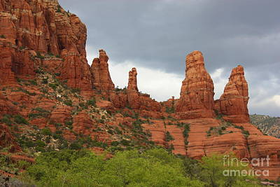 Red Cliff Photograph - Sedona Sandstone by Carol Groenen