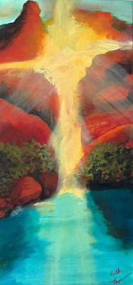 Painting - Sedona Sunrise by Keith Thue