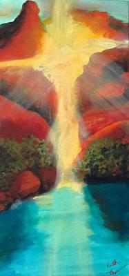 Painting - Sedona Sunrise by Keith Thue