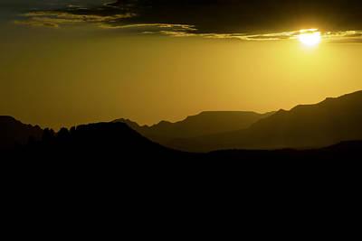 Sedona Sunset Art Print by Christian Capucci