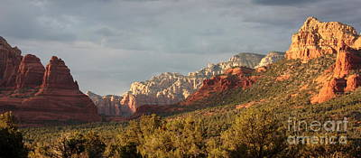 Sedona Sunshine Panorama Art Print by Carol Groenen