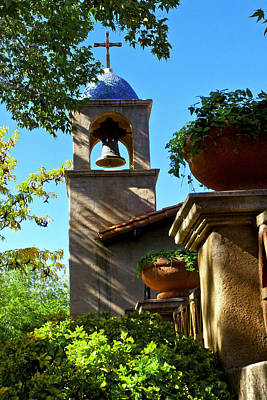 Photograph - Sedona Tlaquepaque Chapel by Lou Ford