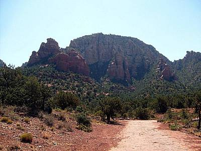 Photograph - Sedona View 1 by Philomena Zito