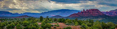 Spot Of Tea Royalty Free Images - Sedona Vista Royalty-Free Image by Will Wagner