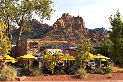 Featured Tapestry Designs - Sedona Watering Hole by Lou Ford