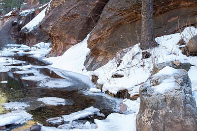 North America Photograph - Sedona Winter Two by Josh Whalen
