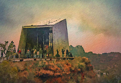 Digital Art - Sedona Worship by Dale Stillman