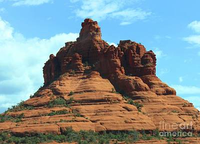 Sedona's Red Rock Art Print by French Toast