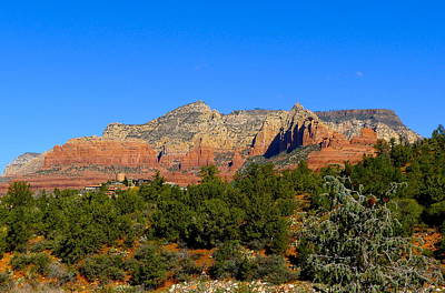Photograph - Sedona's Red Rocks by Denise Mazzocco