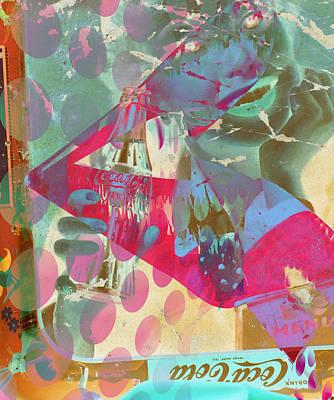 Seduction Of Soda  Art Print by Jerry Cordeiro