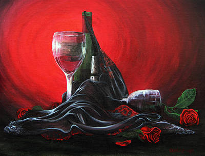 Love Painting - Seduction by Stacey Clarke