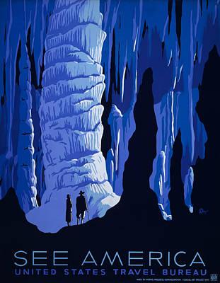 See America Art Print by Georgia Fowler