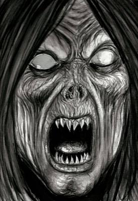 Universal Monsters Painting - See Evil by Jack Joya