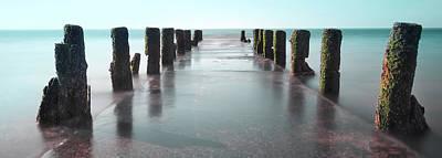 Photograph - See-green Old Pier Panorama by Dapixara