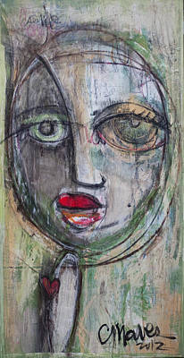 Painting - See Me  by Laurie Maves ART