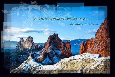 See Things From His Perspective Art Print by Bruce Hamel