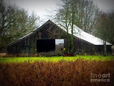 Photograph - See Thru Barn by Susan Garren