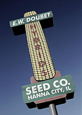 Food Web Photograph - Seed Company Sign 1.2 by Stephen Stookey
