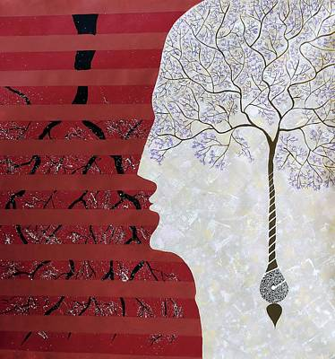 Surrealism Painting - Seed Of Thought by Sumit Mehndiratta
