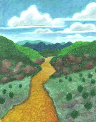 Painting - Seeded Waterway by Carrie MaKenna