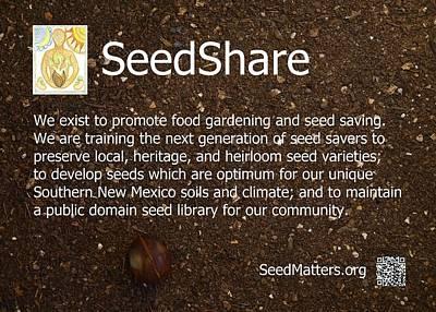 Seedshare Art Print by Jon Simmons